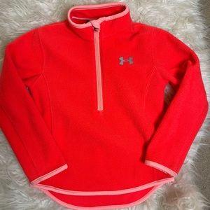 UA fleece jacket kids 5